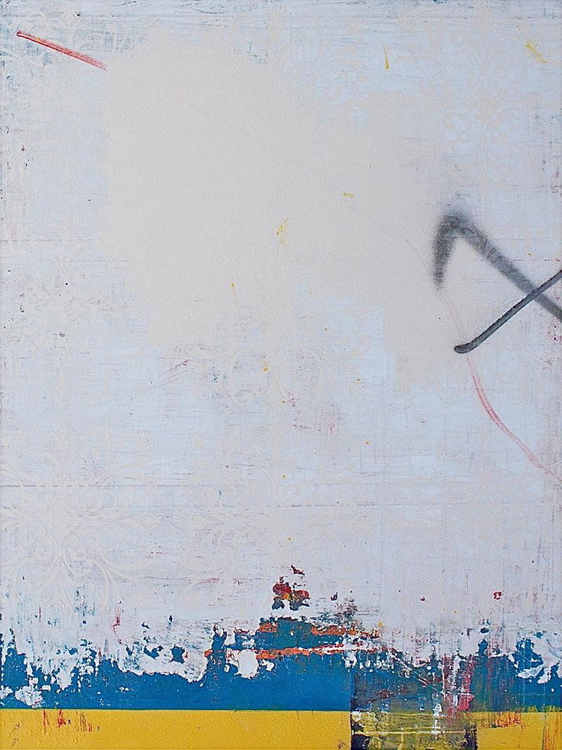12.100 cm x 120 cm, acrylique, produit chimique, 2012