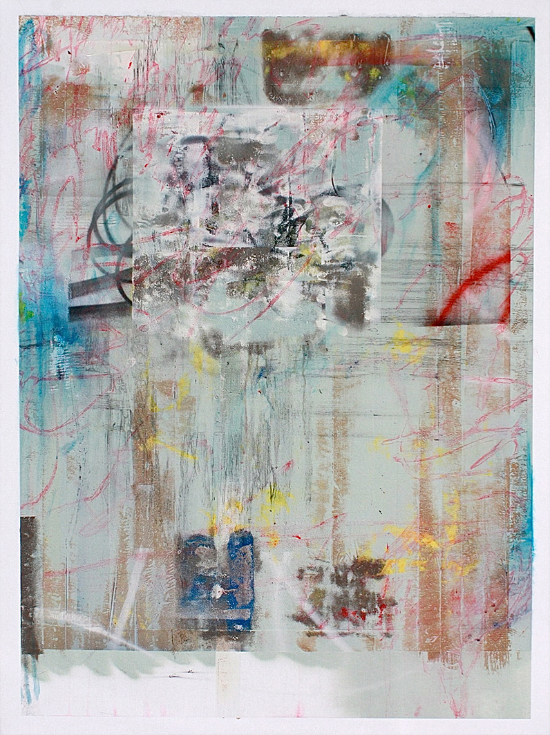 15.120 cm x 160 cm, acrylique, crayon gras, produit chimique, 2012