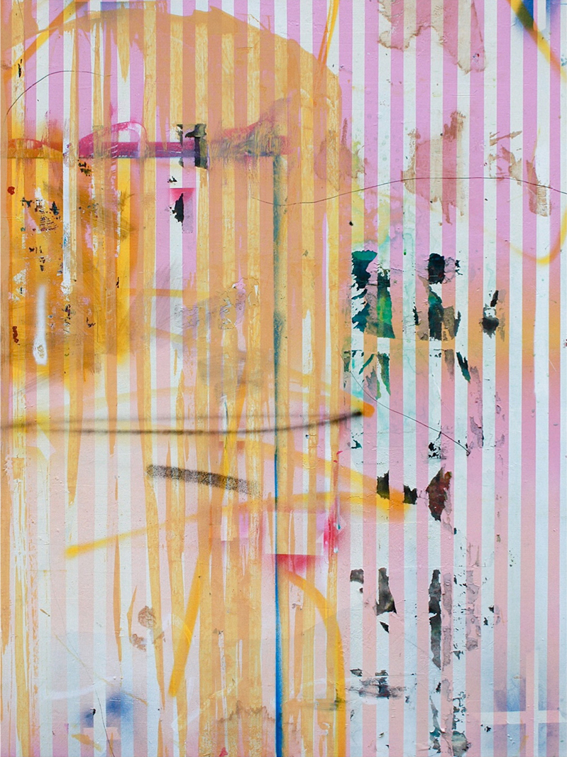 16.080 cm x 110 cm, acrylique, 2013