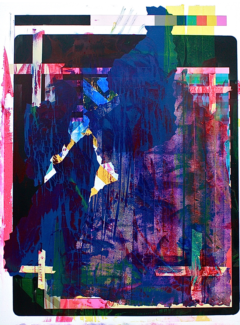17.120 cm x 160 cm, acrylique, encre, 2013