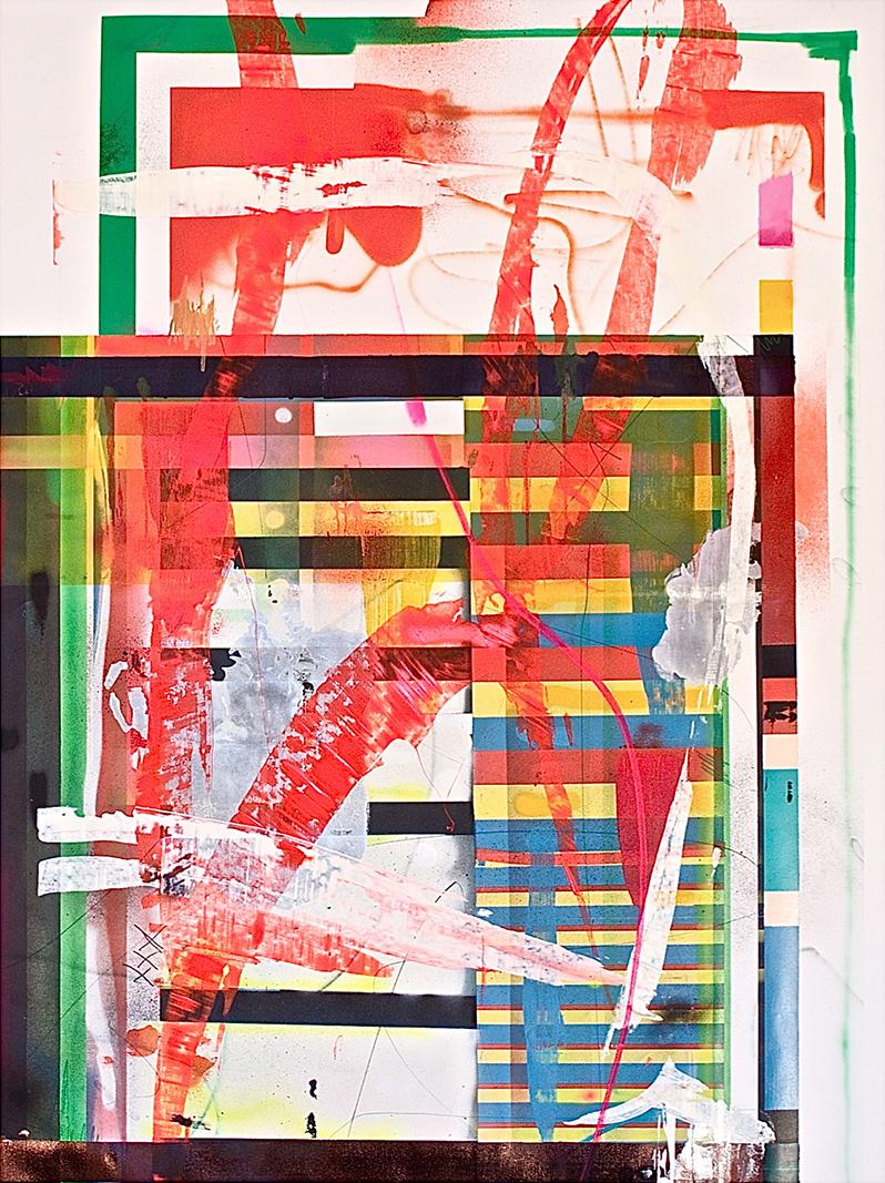 19.140 cm x 190 cm, acrylique,2014