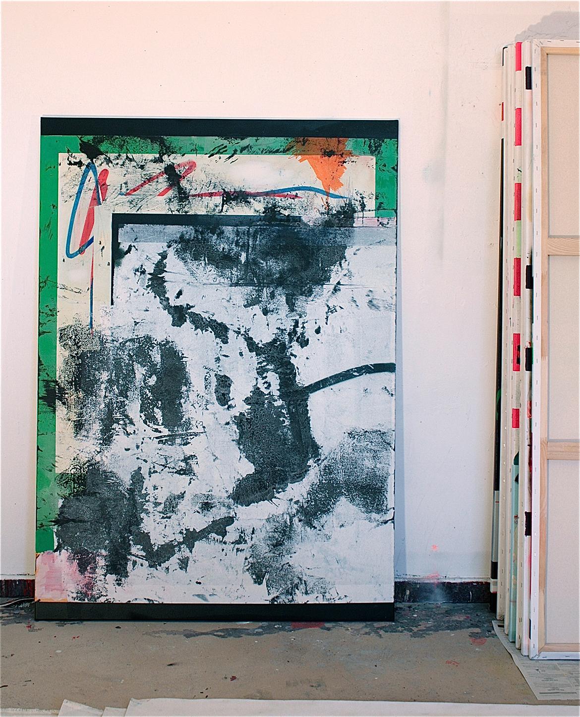 21.100 cm x 140 cm, acrylique, 2013
